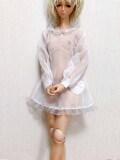 Angelphilia(vmf50)/DDのL、M胸用 シースルパジャマ 白