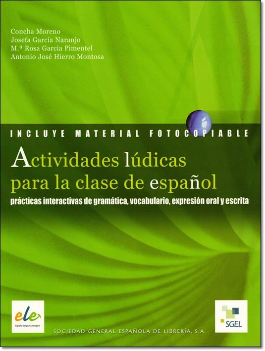 ACTIVIDADES LUDICAS PARA LA CLASE DE ESPANOL