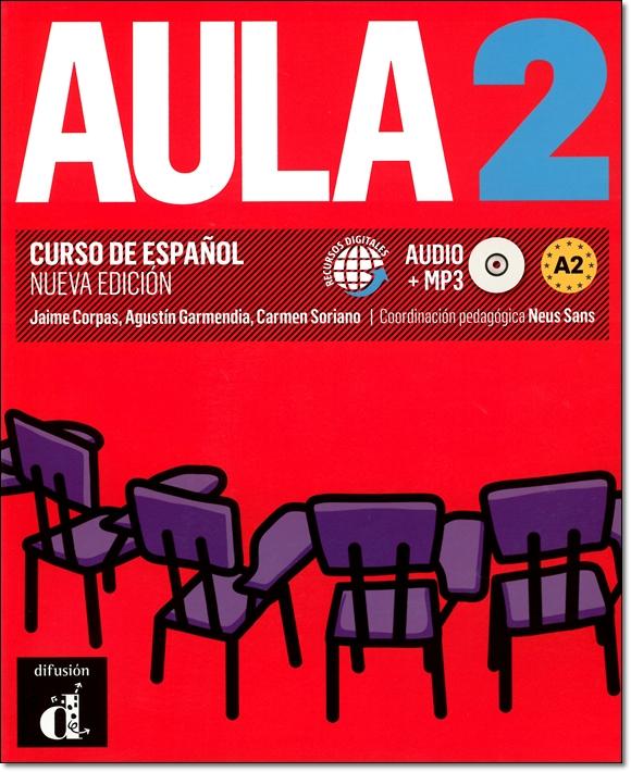 AULA 2 NUEVA EDICION. LIBRO DEL ALUMNO + MP3