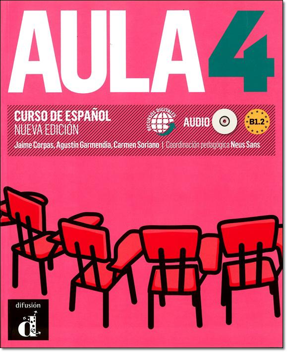 AULA 4 NUEVA EDICION. LIBRO DEL ALUMNO + MP3