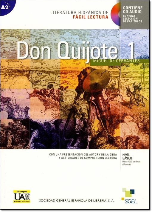 DON QUIJOTE DE LA MANCHA 1 + CD <CERVANTES>