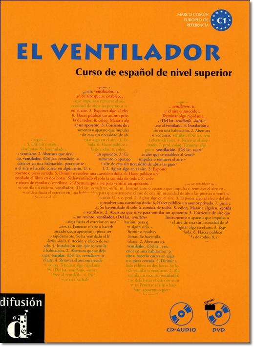 ワケあり本:EL VENTILADOR LIBRO DEL ALUMNO + CD + DVD