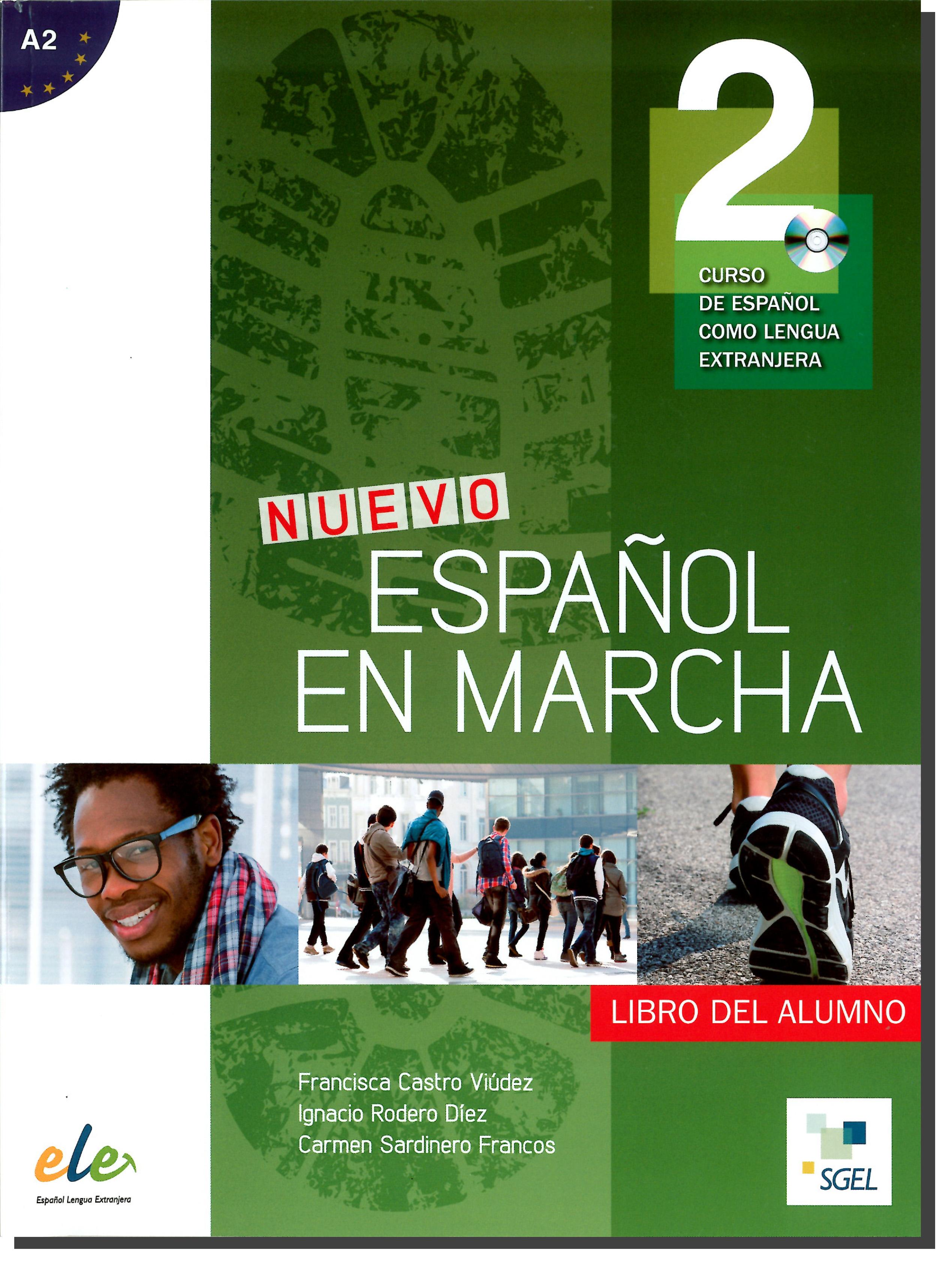 NUEVO ESPANOL EN MARCHA 2 LIBRO + CD