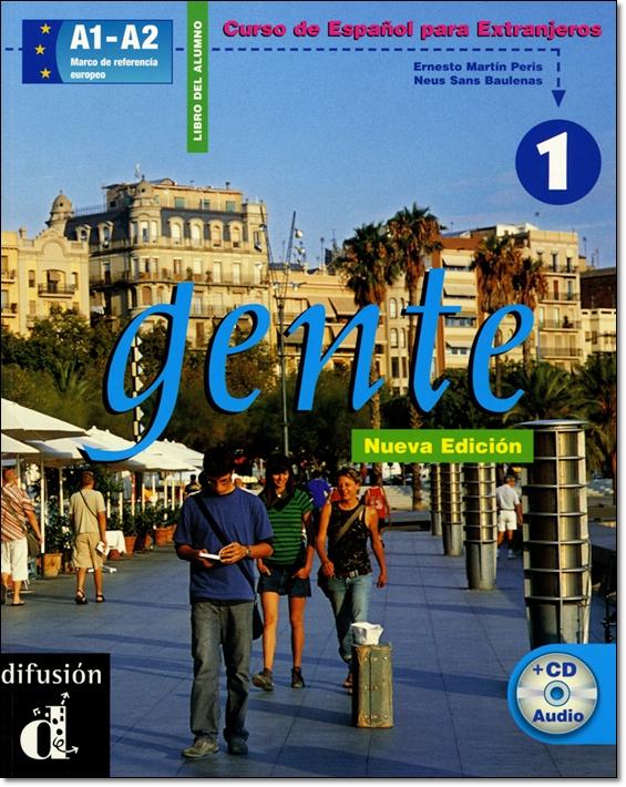 GENTE 1 NUEVA EDICION. LIBRO DEL ALUMNO + CD (Nivel A1-A2)