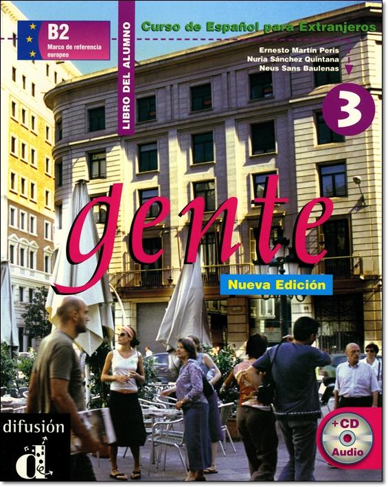 GENTE 3 NUEVA EDICION. LIBRO DEL ALUMNO + CD