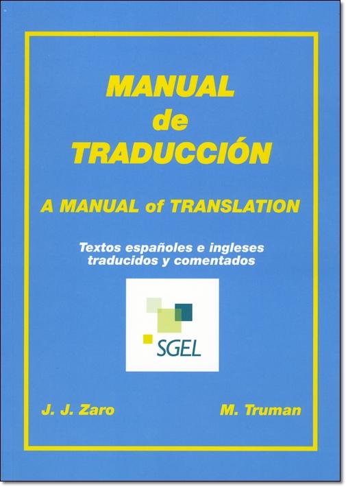 MANUAL DE TRADUCCION (INGLES-ESPANOL)