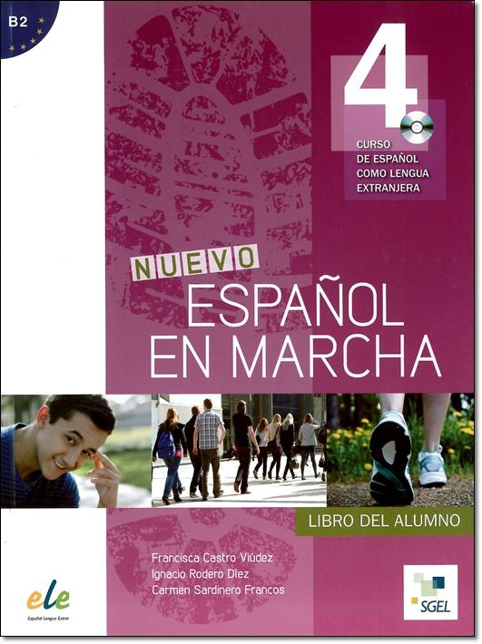 NUEVO ESPANOL EN MARCHA 4 ALUMNO + CD