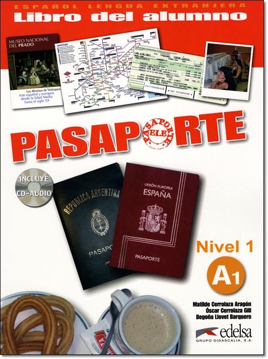 PASAPORTE ELE A1 LIBRO DEL ALUMNO + CD
