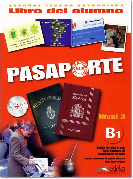 PASAPORTE ELE B1 LIBRO DEL ALUMNO + CD