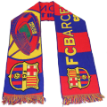 F.C. バルセロナ オフィシャル ニットマフラー D
