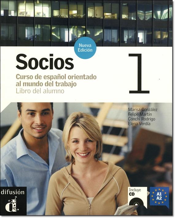 SOCIOS 1 NUEVA EDICION LIBRO DEL ALUMNO + CD (Nivel A1-A2)