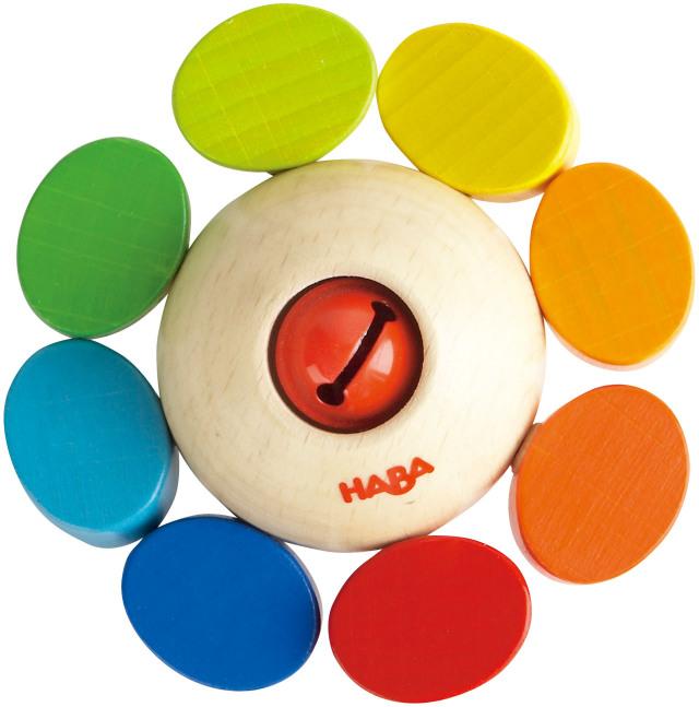 HABA ラトル・カラーフラワー