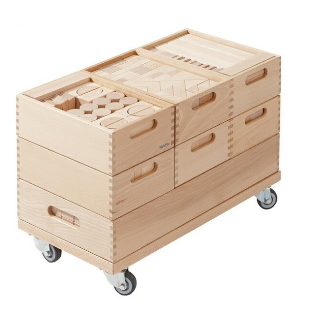 WEHRFRITZ ベルフリッツ 保育積木・全セット WF025100