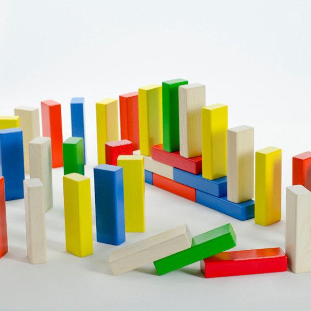 ASタワー ANTON SCHIMMER  サイコロの出た色を抜き取るゲーム ドイツ製 木のおもちゃ パーティー 子供 kids