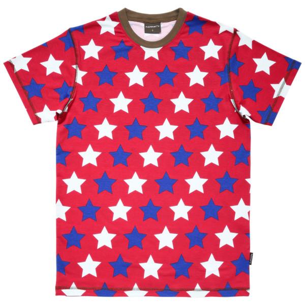 オーガニックコットン 星柄Tシャツ maxomorra