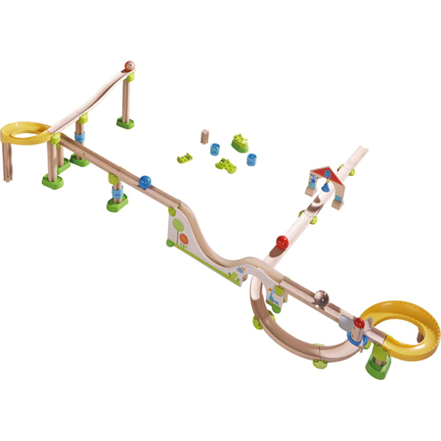 クラビューレール  木のおもちゃ  追加パーツ CEマーク HABA社 ハバ社 2歳 3歳 4歳
