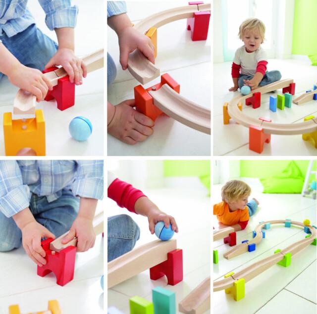 木製レール玩具