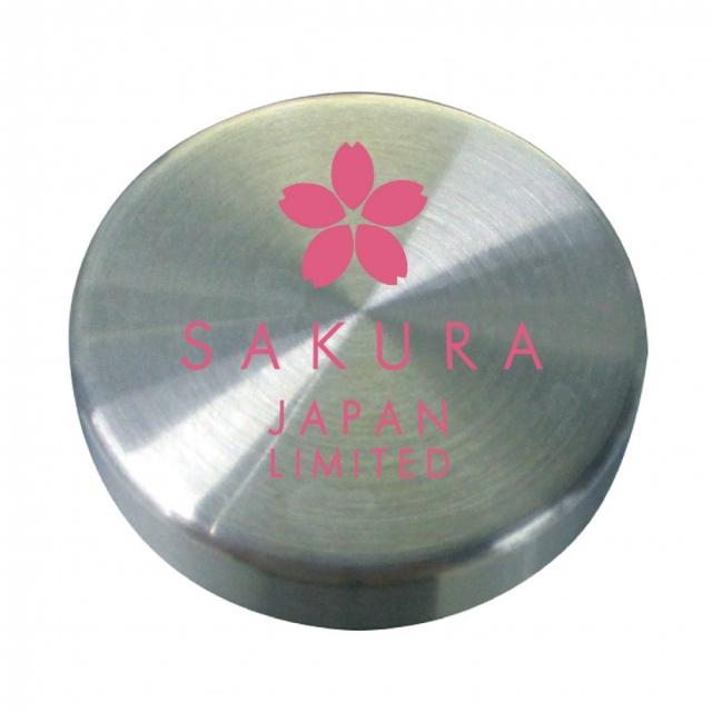 桜がデザインされたかわいいボトルキャップ