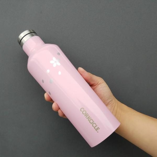 この時期限定日本限定桜柄水筒