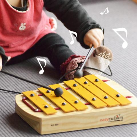 ペンタグロッケン(ガイドブック付き) 音色が綺麗な本格打楽器鉄琴