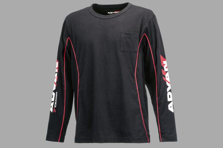 ADVAN ロングスリーブTシャツ クロ