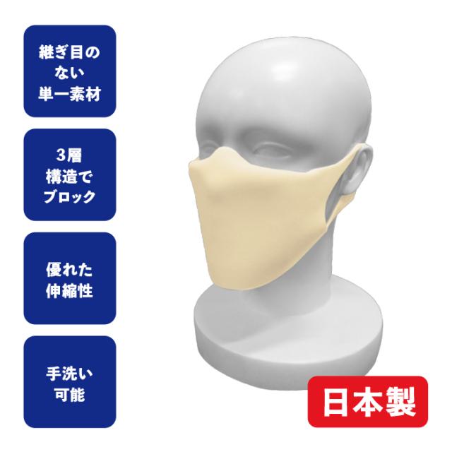 ポリマーボディーの洗えるマスクα(アルファ)