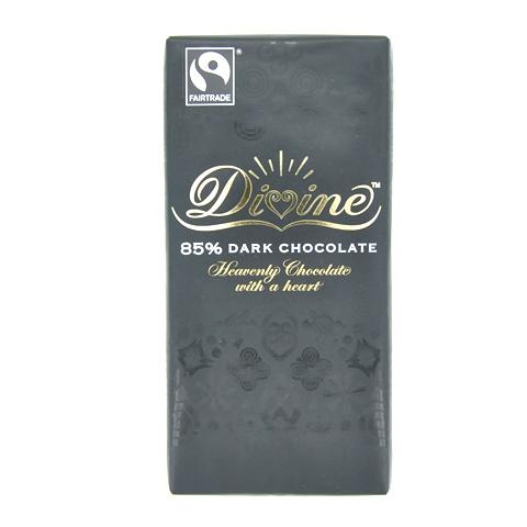 DIVINE ダークチョコレート(カカオ85%)  90gバー