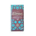 DIVINE トフィー&シーソルトミルクチョコレート(カカオ38%) 90gバー