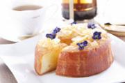 【レモンジュレ麹チーズケーキ】 瀬戸内産レモンジュレをたっぷり乗せた 生の塩麹で熟成 藻塩でアクセント 季節のエディブルフラワーを散りばめた 特別なチーズケーキ