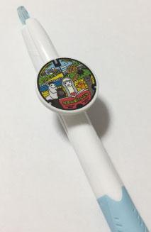 ご当地マンホールボールペン北海道剣淵町【メール便可能】