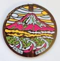 リアルご当地マンホール(ミニ) No.0001静岡市富士市【メール便可能】