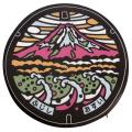 ご当地マンホールチェアパッド静岡県富士市