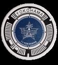 ご当地マンホール白雲石コースター 横浜DeNAベイスターズ×横浜市 【メール便可能】