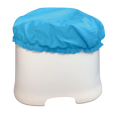 お風呂のイスカバー(ブルー)【メール便可能】