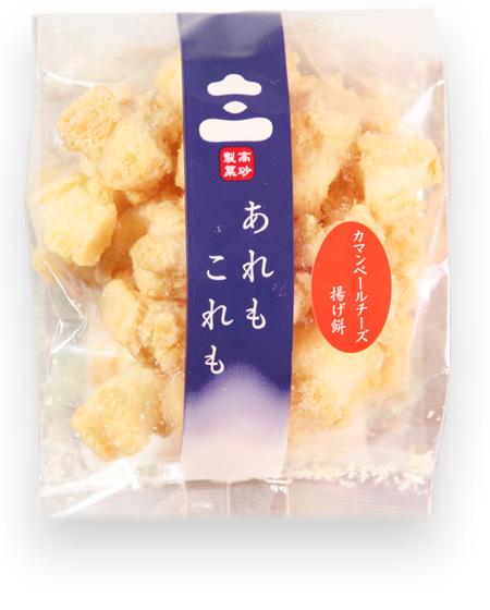 プチシリーズ カマンベールチーズ揚げ餅