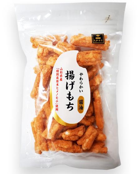 揚げ餅醤油
