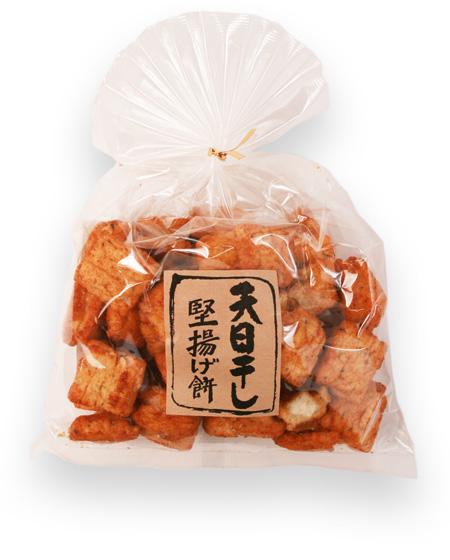 天日干し 堅揚げ餅(醤油)