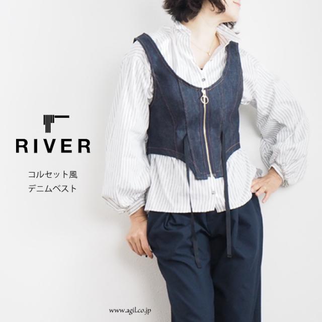 RIVER (リバー) コルセット風 ス...