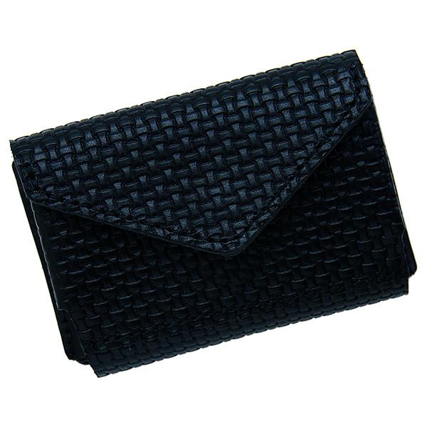 ミニ財布 小さい財布 ミニウォレット コンパクト ミニマリスト ミニマル ブラック