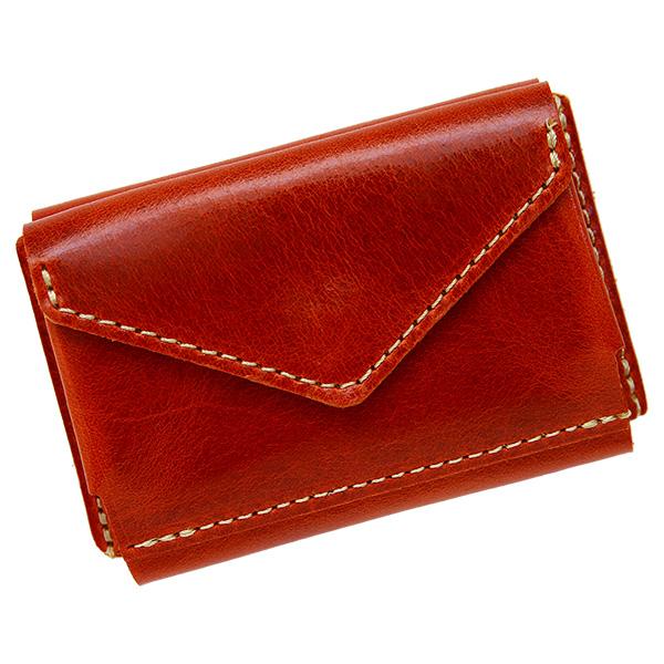 ミニ財布 小さい財布 ミニウォレット コンパクト ミニマリスト ミニマル ブラウン