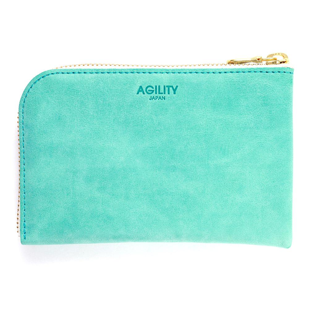 スマホ 財布 L字ファスナー 牛革 スマホが入る ミニ財布 小さい財布