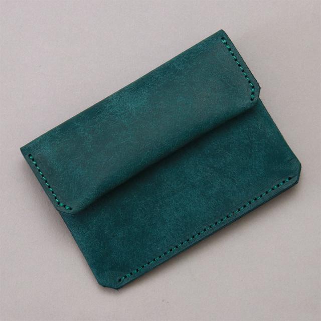 財布 極小財布 コンパクト ウォレット 牛革 カードケース 小さい