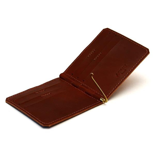 折財布 栃木ヌメ 革 レザー 日本製