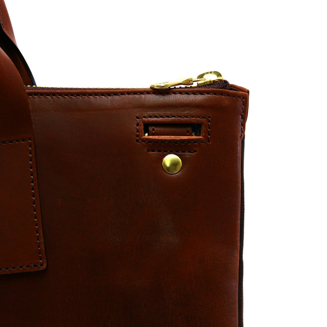 ビジネスバッグ メンズ A4 本革 スリム PCポケット 2way ショルダーベルト