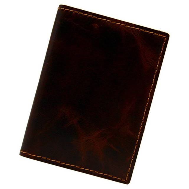 カードケース 本革 薄型 コンパクト 二つ折り メンズ レディース 20枚 日本製 ダークブラウン