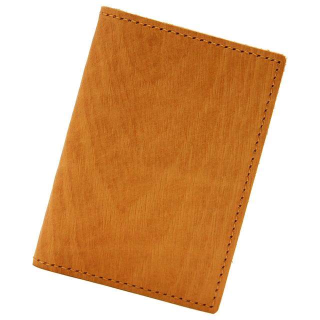 カードケース ポイントカードケース 20枚 木目調 ウッドレザー 本革 レザー ベージュ