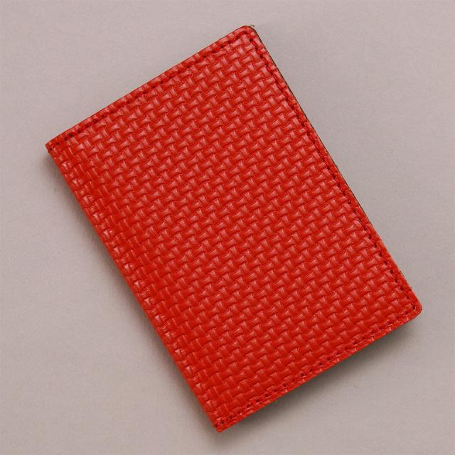 カードケース 本革 メッシュ 薄型 コンパクト 二つ折り メンズ レディース 20枚