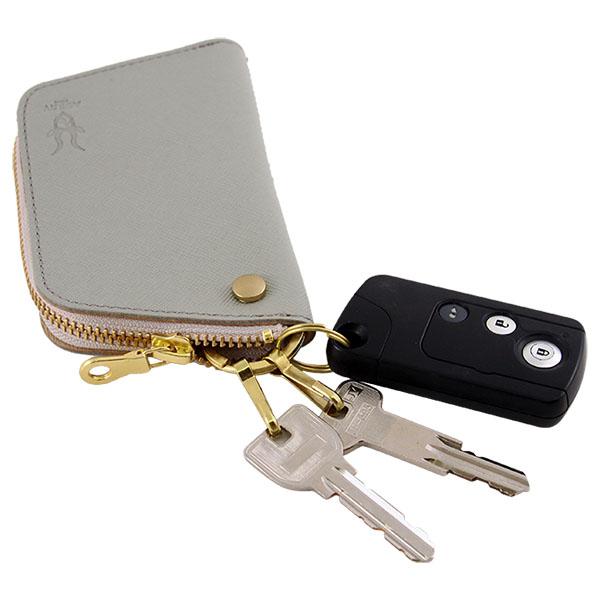 キーケース リモコンキー カードキー 免許証 日本製 本革 レザー