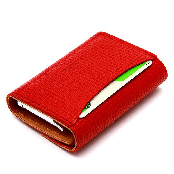 コインキャッチャー 財布 三つ折り 小銭入れ 札入れ付き 日本製