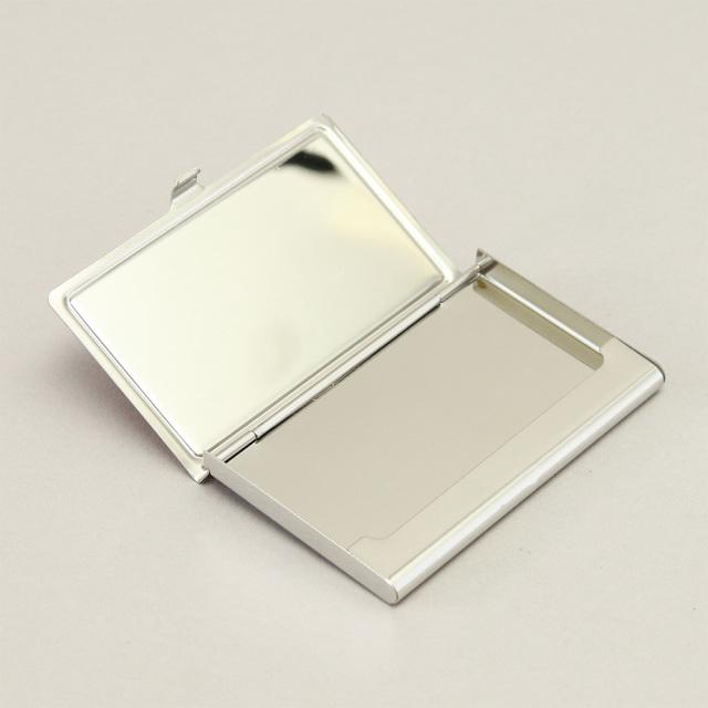 カードケース 金属 ステンレス 革 名刺入れ 日本製